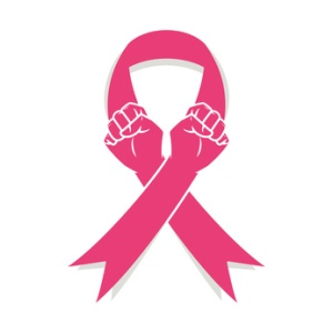 Pink ribbon, fight against cancer